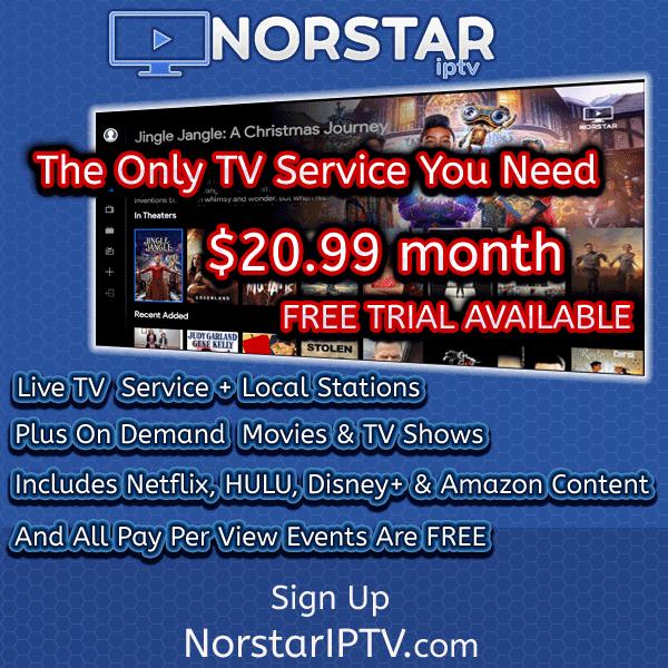 Norstar app on tv